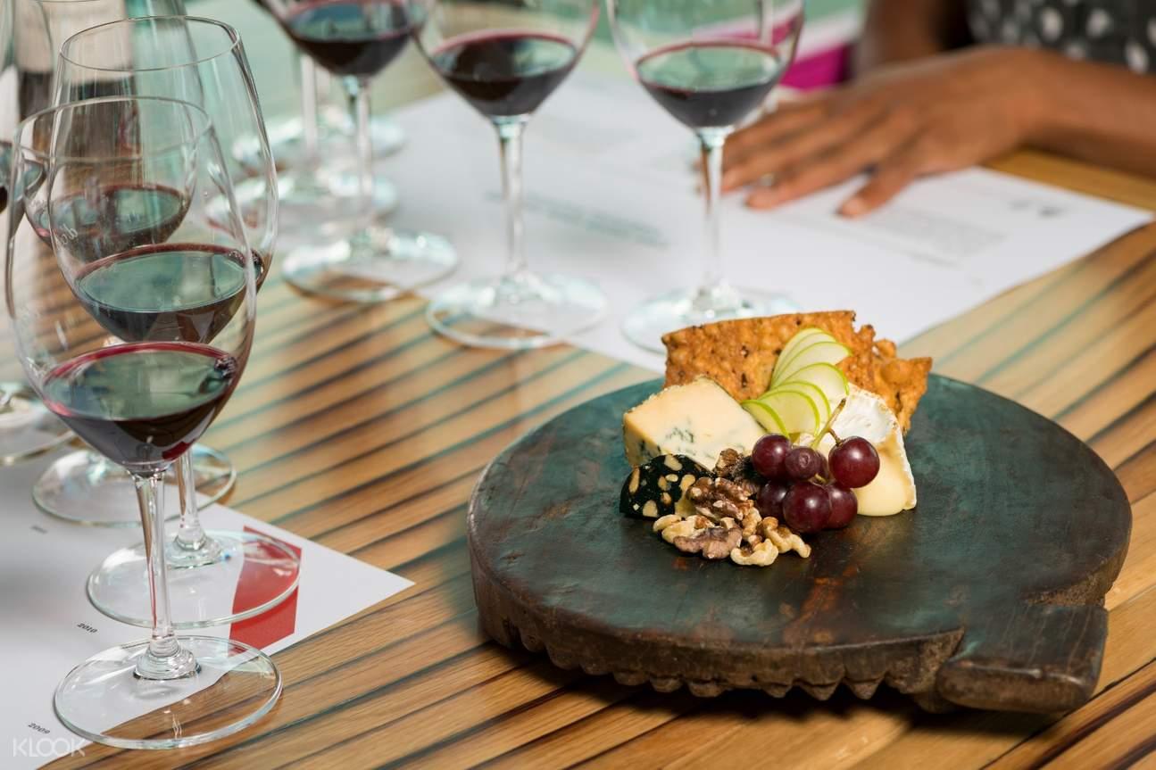 wine tasting d'arenberg