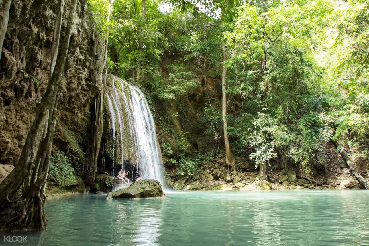 erawan falls 2d kanchanaburi private tour