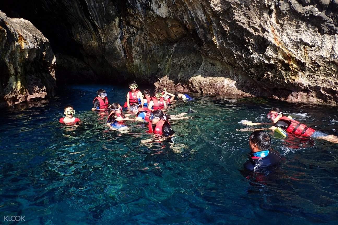 綠島藍洞祕境探險之旅