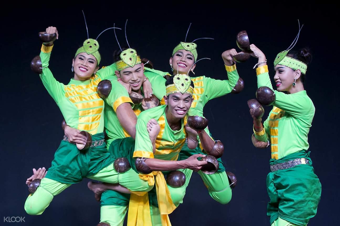 柬埔寨金邊Plae Pakaa舞蹈表演