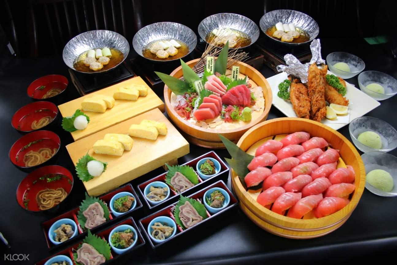tuna course meal