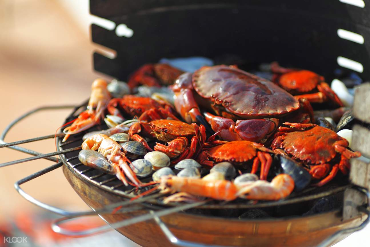 crab catching goa
