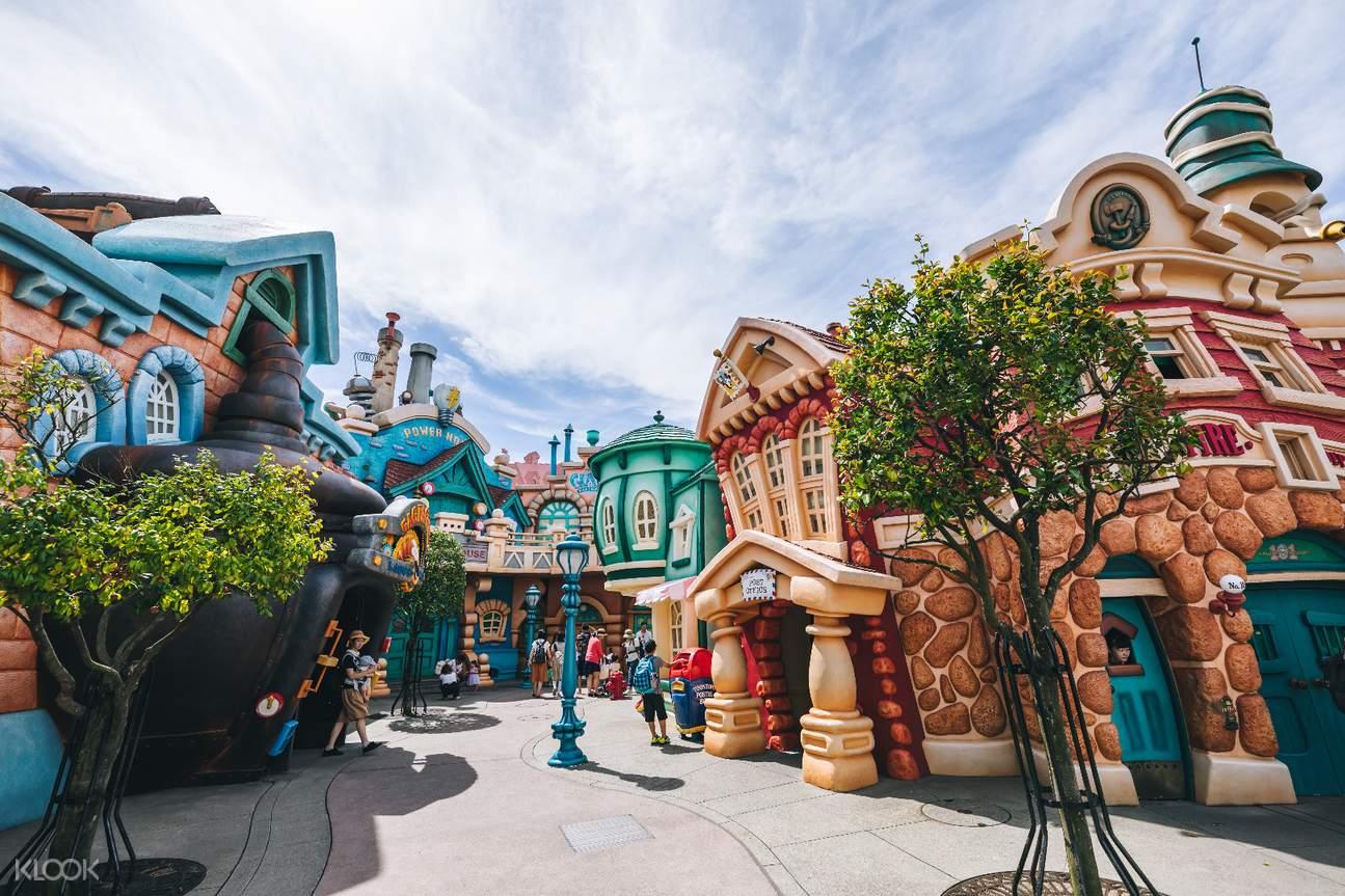 日本东京新宿至东京迪士尼海洋乐园
