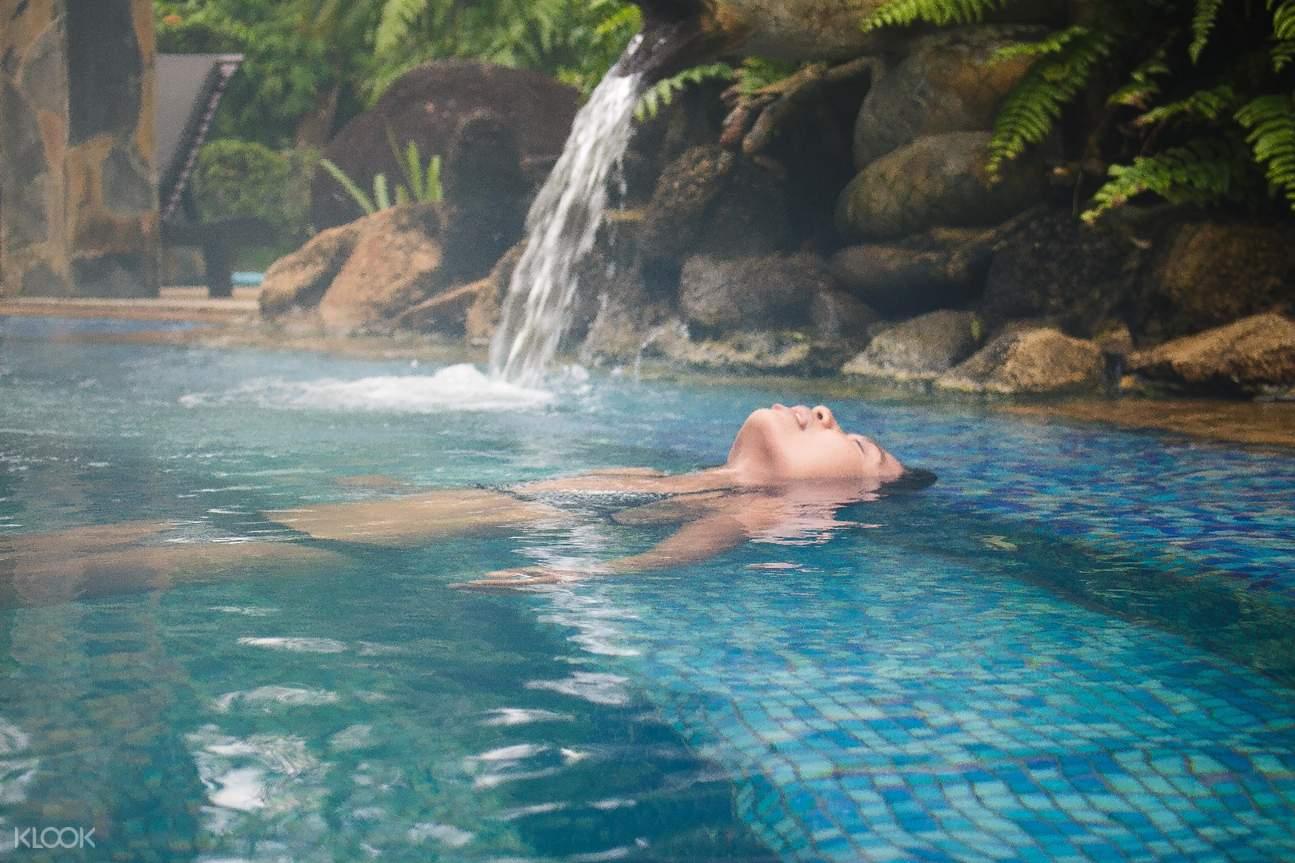 普吉島生態探險- 溫泉