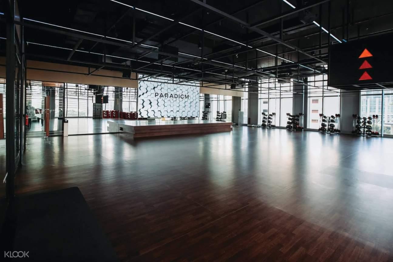 class room Paradigm Fitness Jakarta