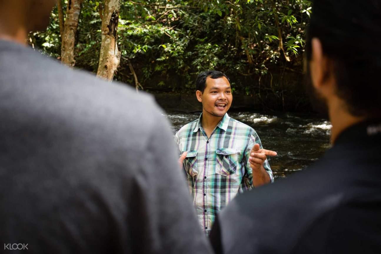 柬埔寨荔枝山瀑布