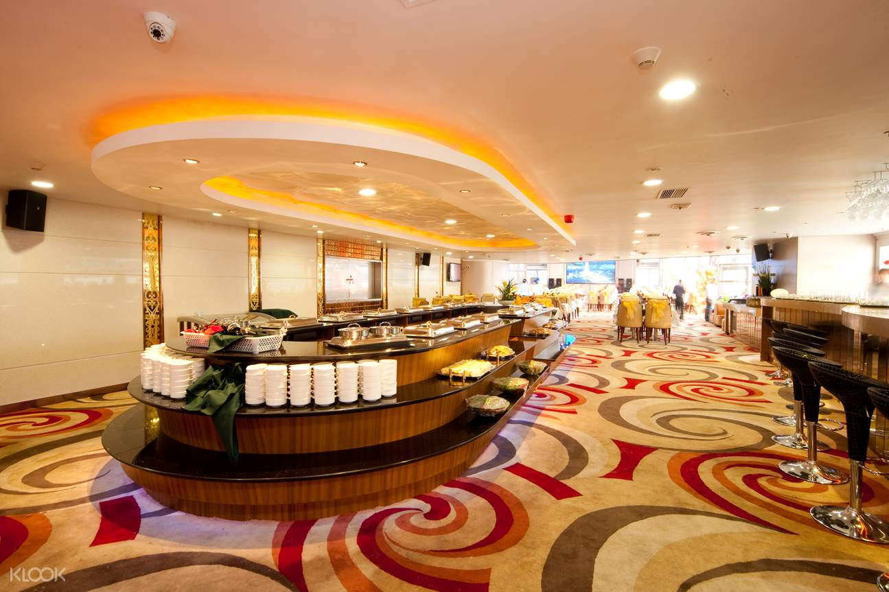 pearl river night cruise buffet hall