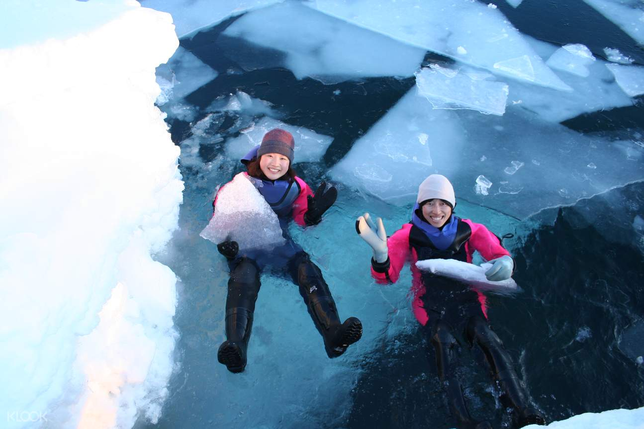 drift ice experience in shiretoko