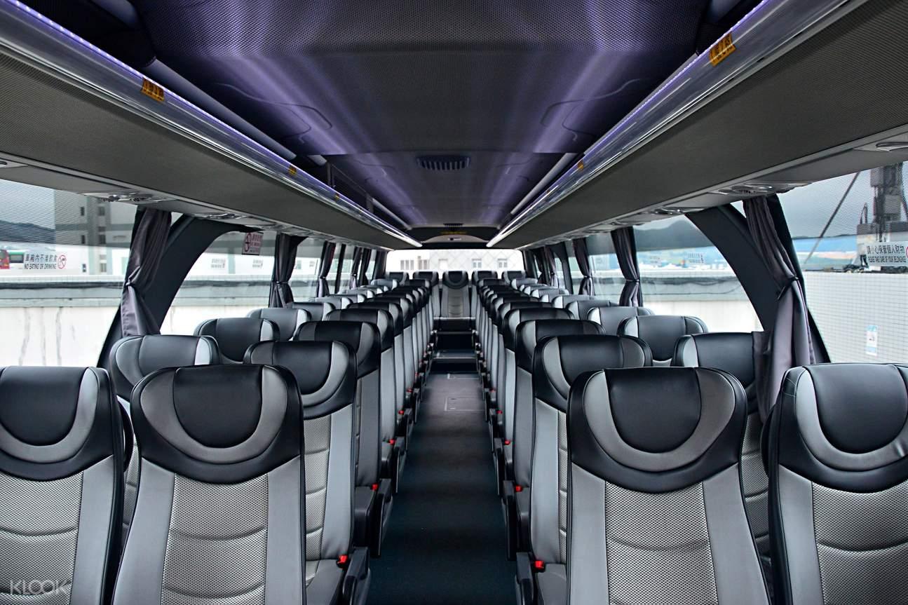 香港港島至廣東省各城市直通巴士