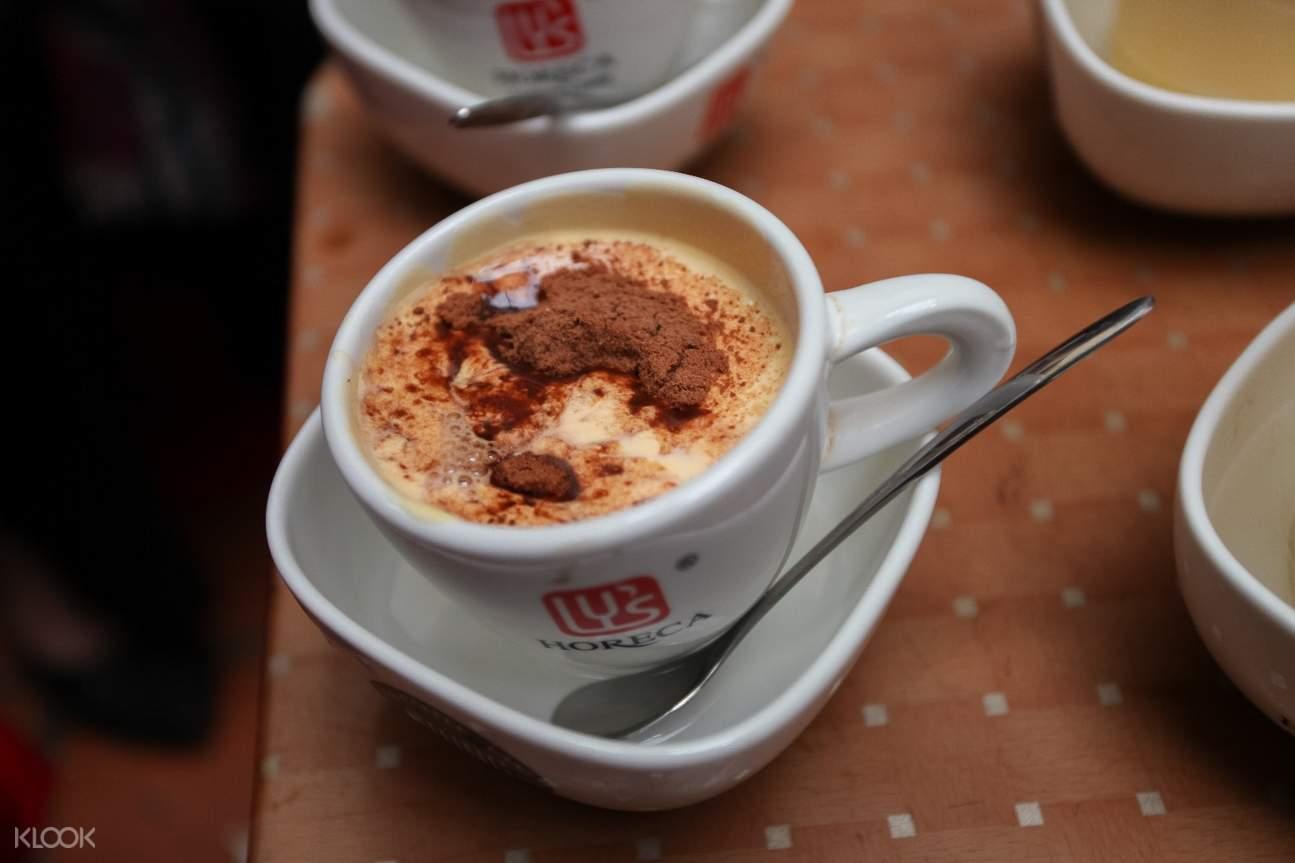 越南 河內街頭美食徒步 蛋咖啡