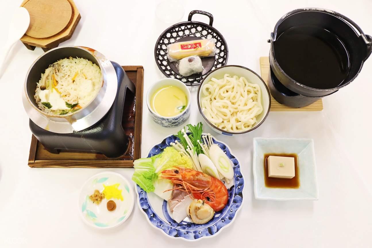 高野山午餐