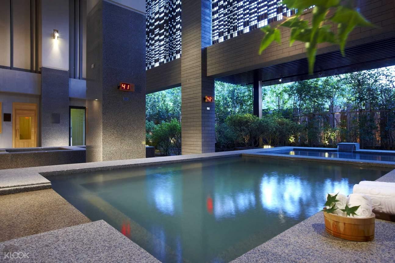 台北北投麗禧酒店- 頂級露天溫泉體驗