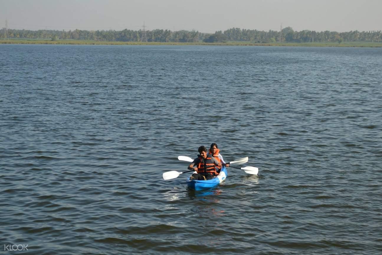 印度 皮划艇 旅游