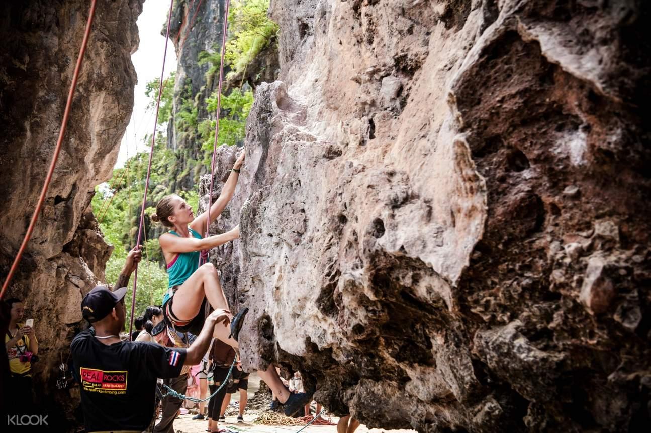 泰国喀比攀岩
