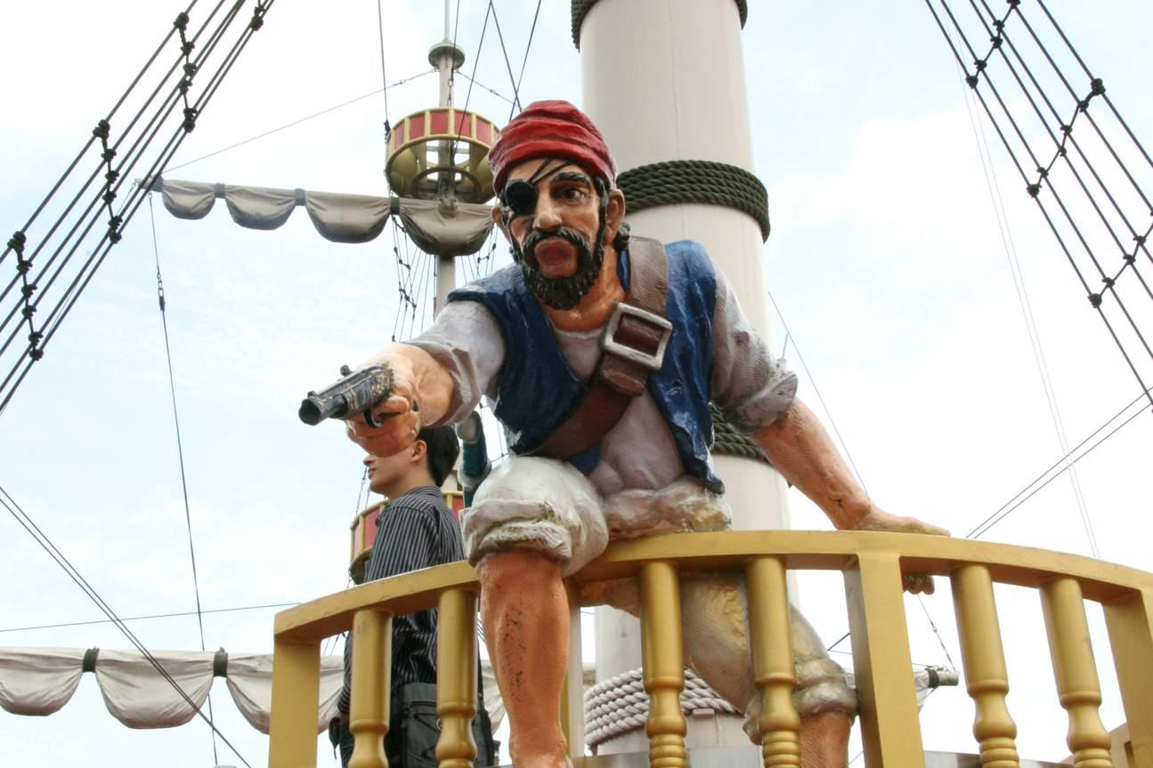 箱根芦之湖海盗船