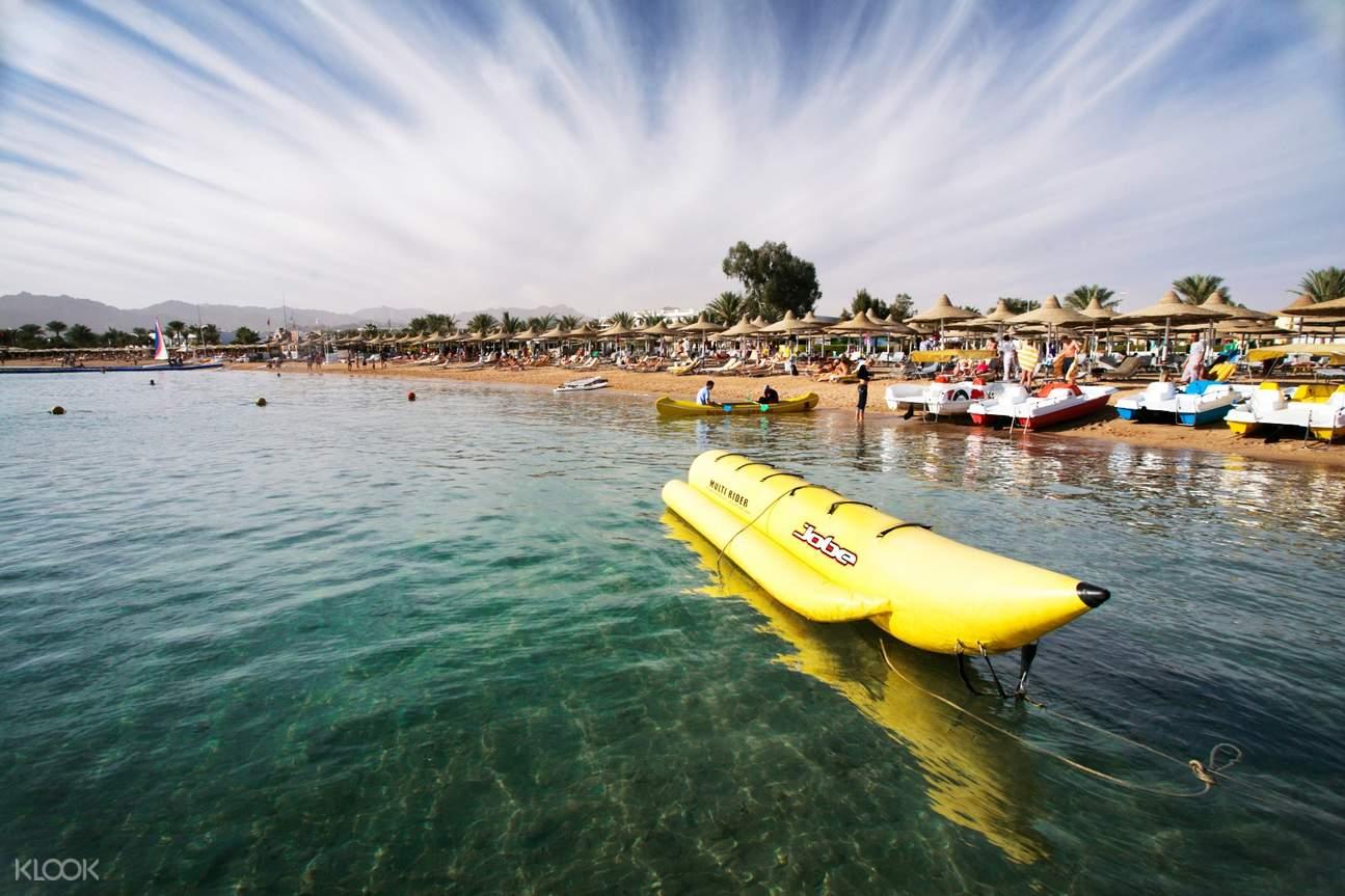 迪拜香蕉船騎行