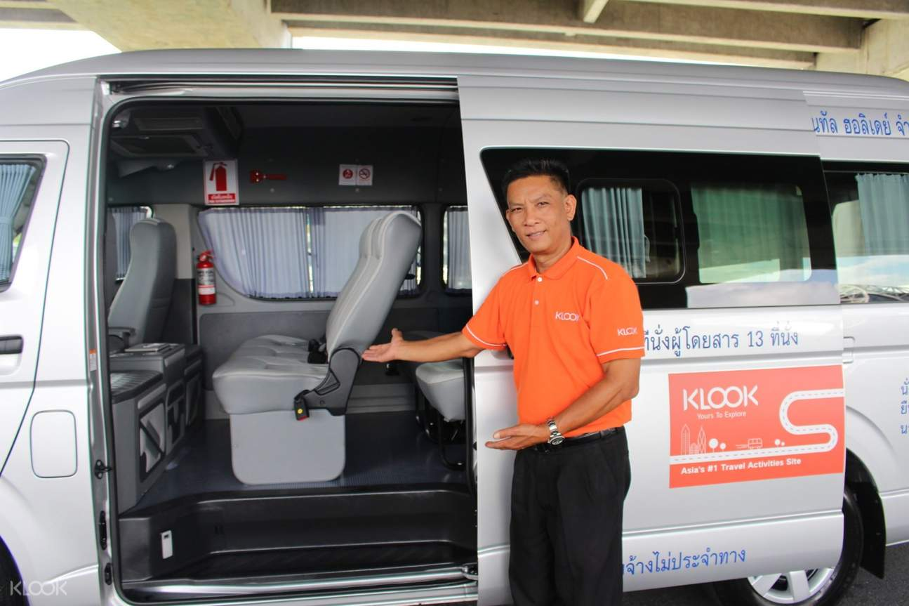 licensed driver bangkok car charter