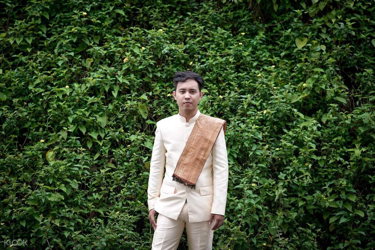 男性泰式服裝
