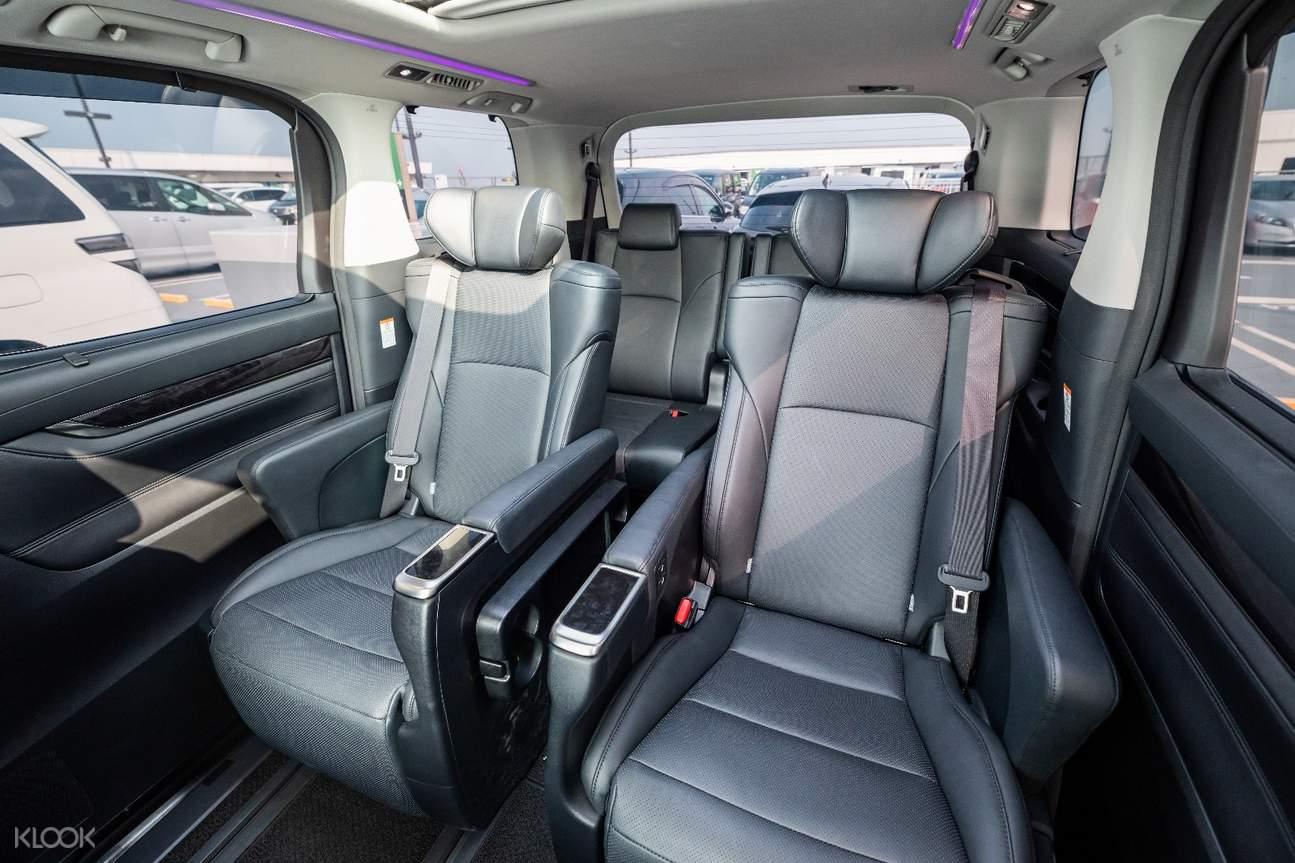 舒適寬敞的7人座車