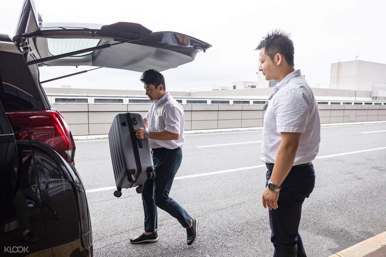 貼心的行李搬運服務