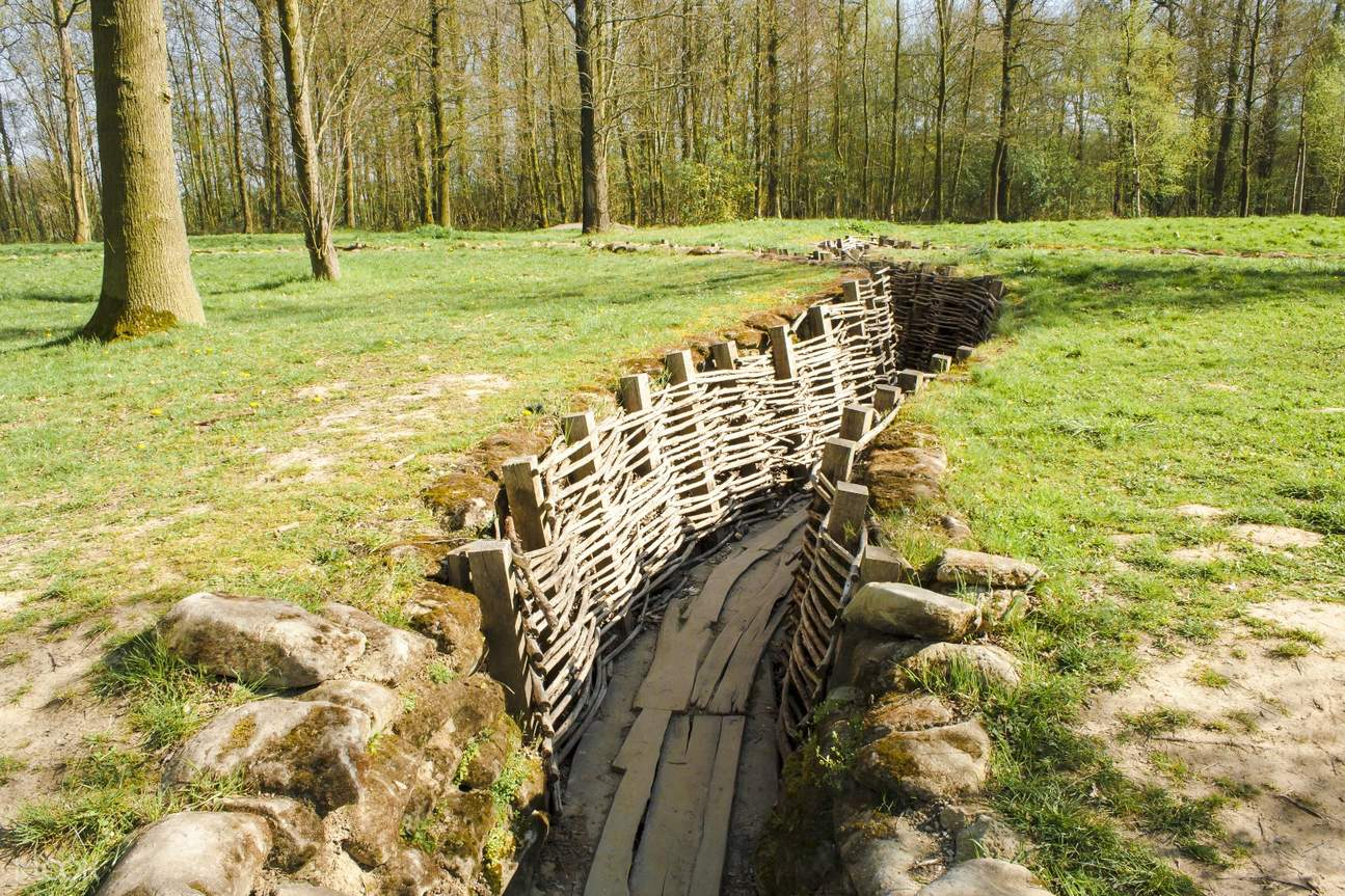 war trenches