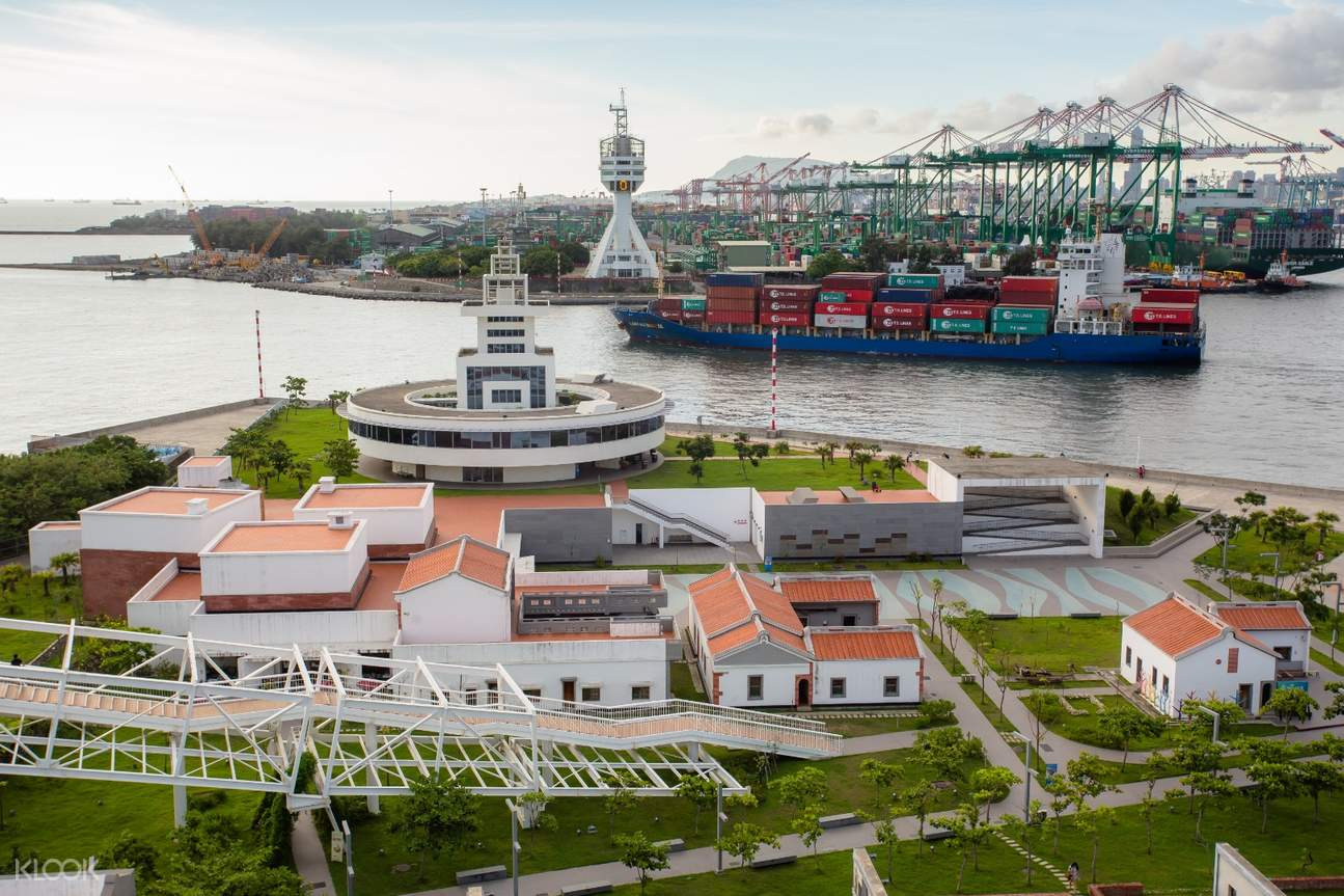 高雄文化遊艇,棧貳庫紅毛港,高字塔海景旋轉餐廳