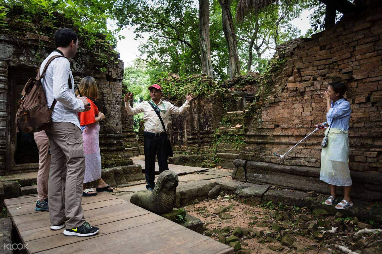 beng mealea day tour siem reap