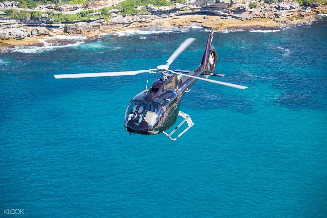 sydney harbour helicopter flight