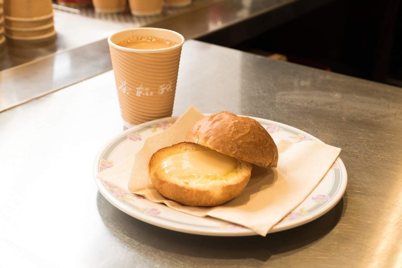 灣仔我杯茶麵包