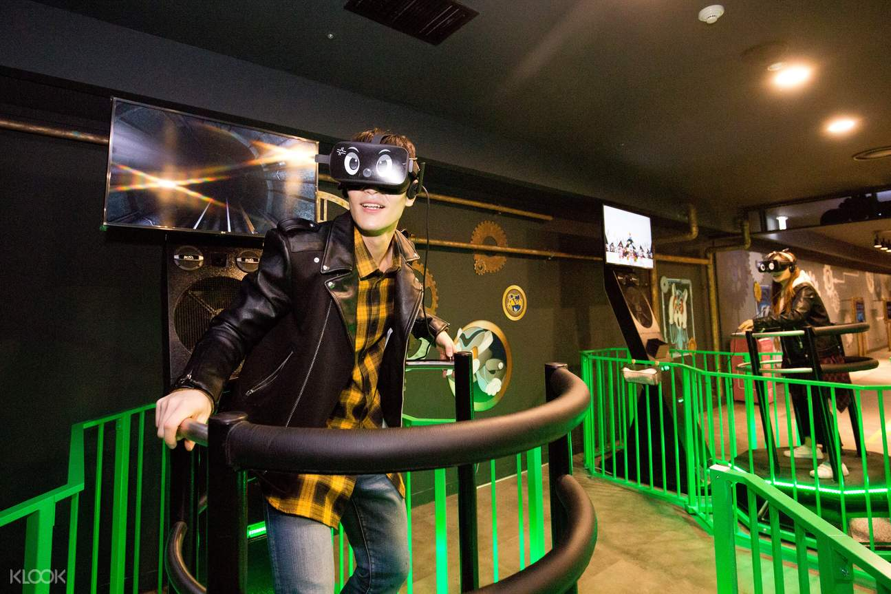 Lotte World VR experience