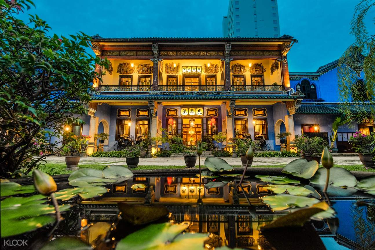 Cheong Fatt Tze Mansion in the afternoon