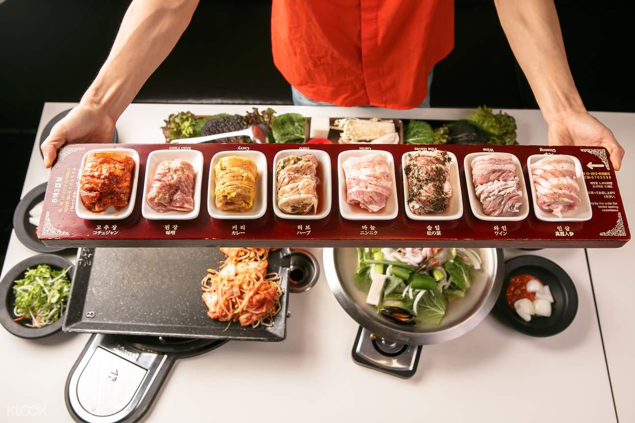 韩国首尔八色烤肉餐厅
