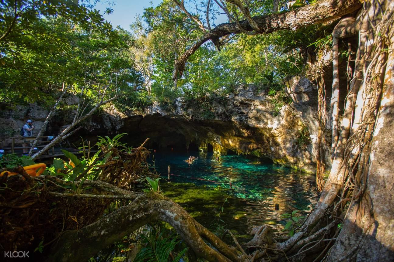 Grand Cenote, Escondido and Cenote Cristal