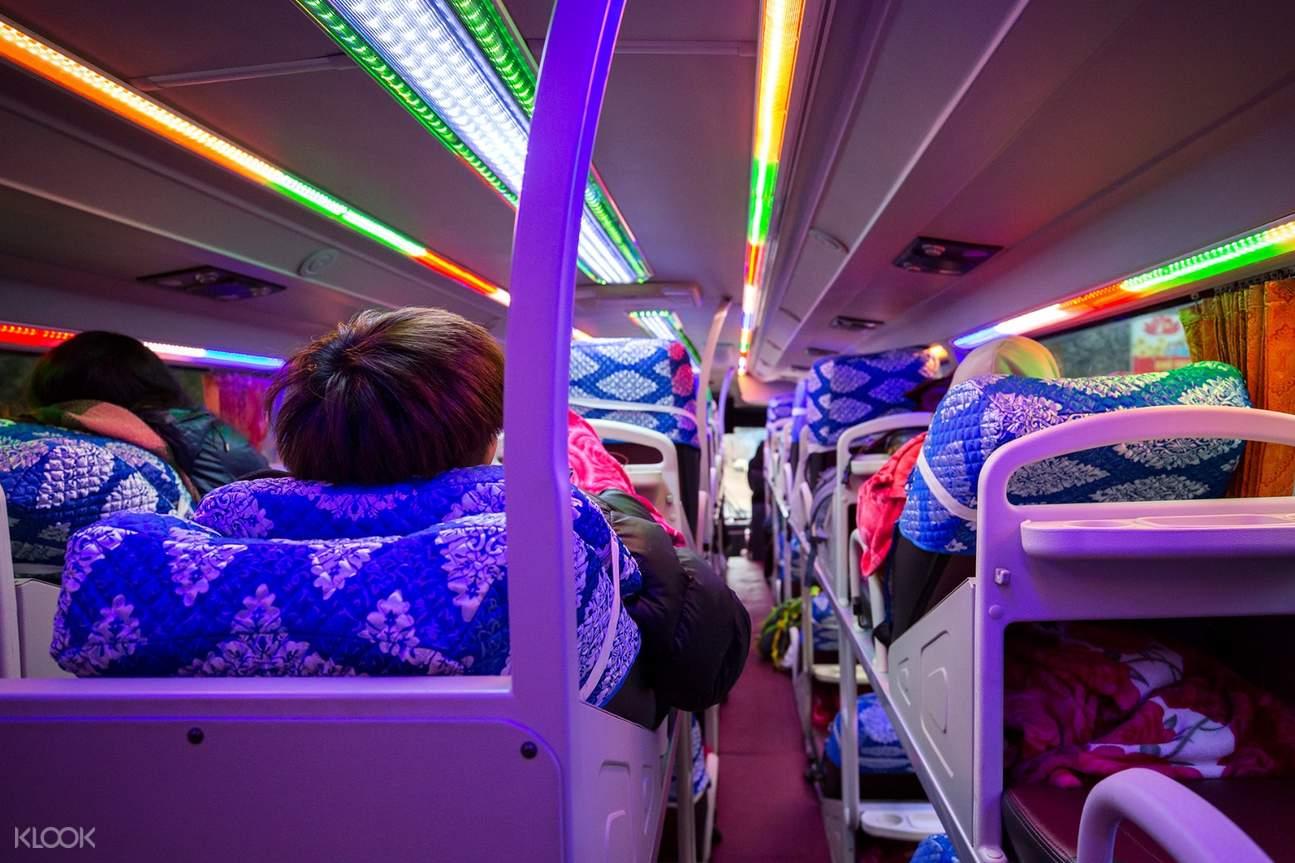 城市交通 河内至沙巴穿梭巴士往返交通