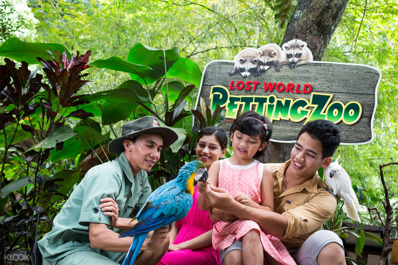 lost world of tambun petting zoo