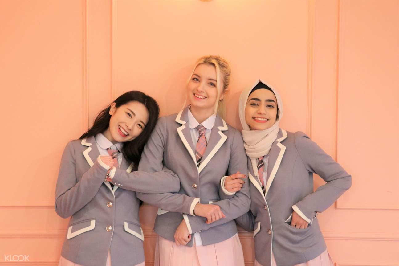 korean school uniform rental seoul