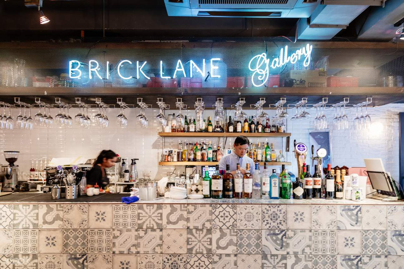 BRICK LANE Gallery 香港尖沙咀的英國菜(免費優惠券)
