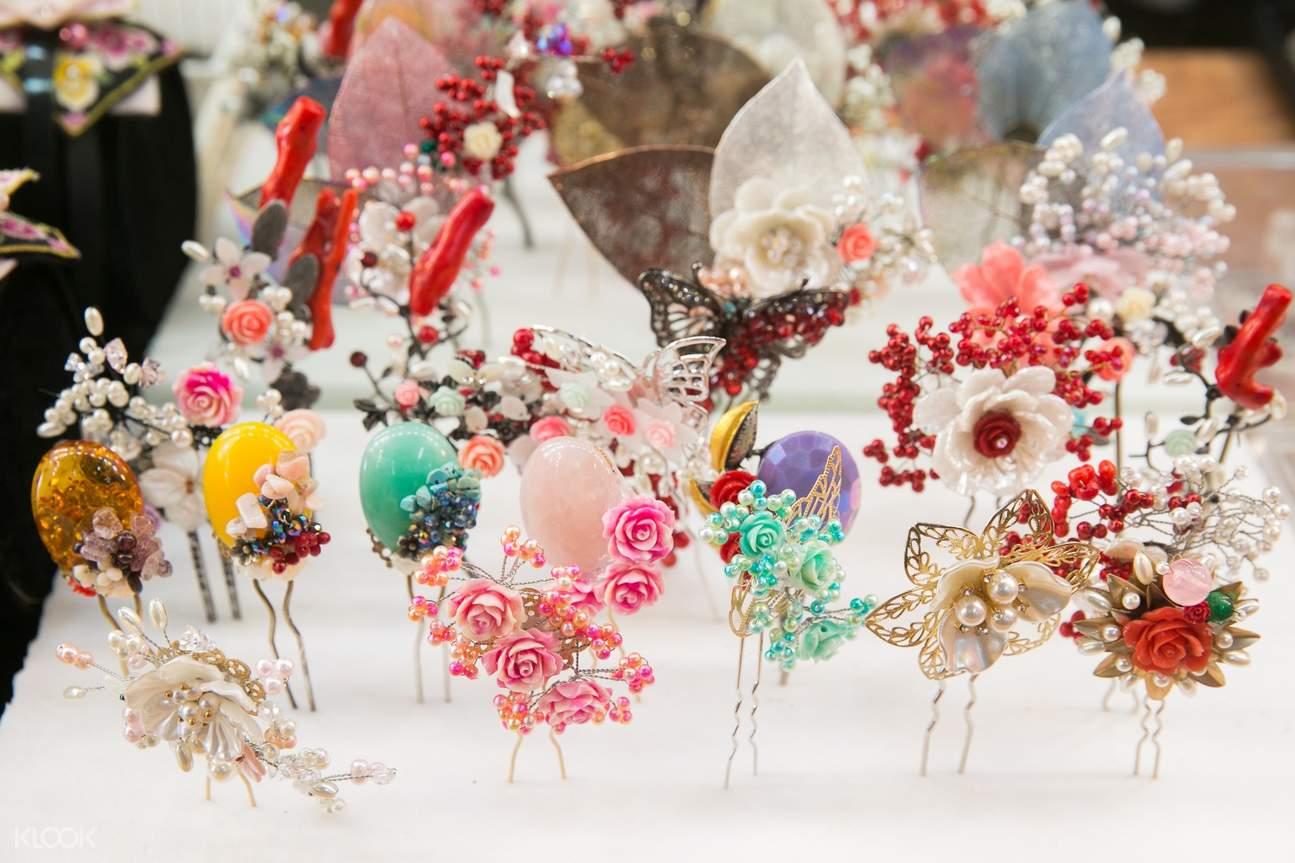 hanbok hair accessories