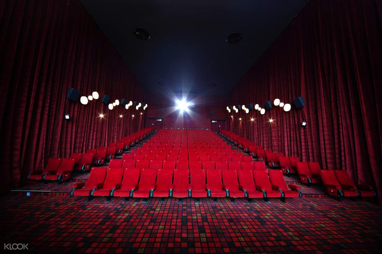 inside a movie house in singapore