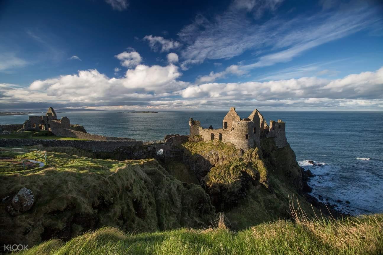 natural landscapes and dunluce castle
