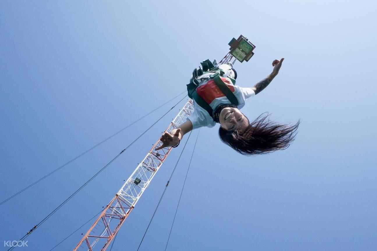 芭堤雅Sanook公園高空彈跳