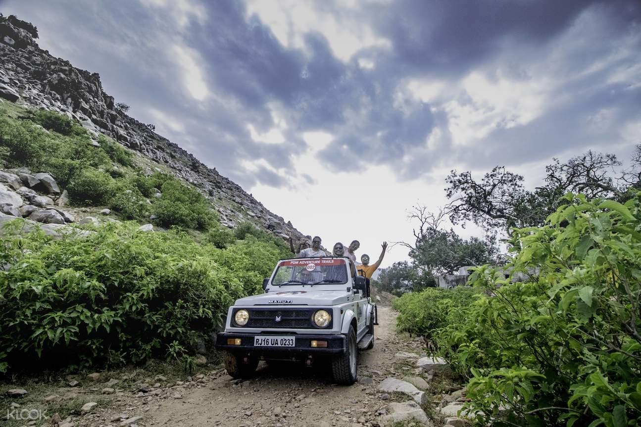 Gyptain Ride in Jaipur