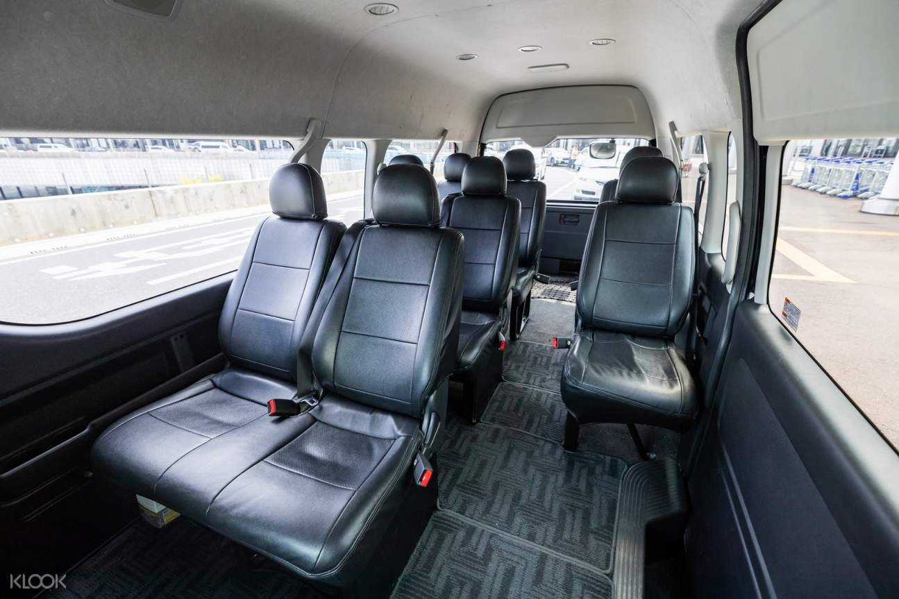 10 seater vehicle interior