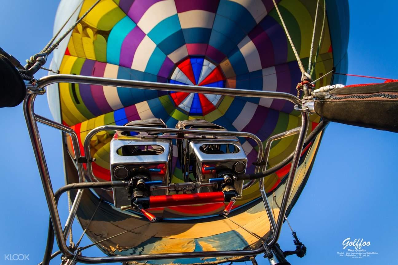 Hot Air Balloon prep