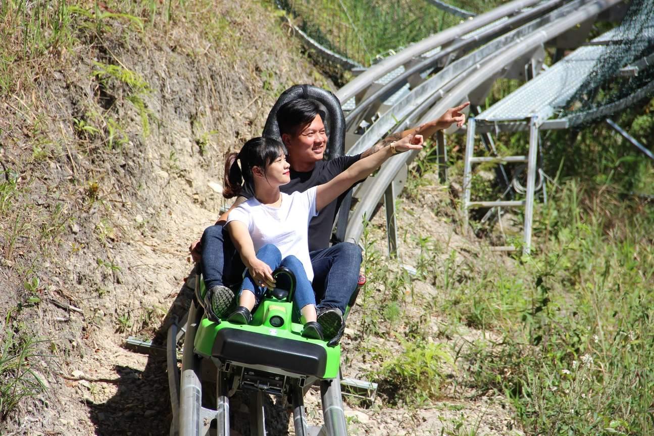 大叻达坦拉New Alpine Coaster高山过山车体验