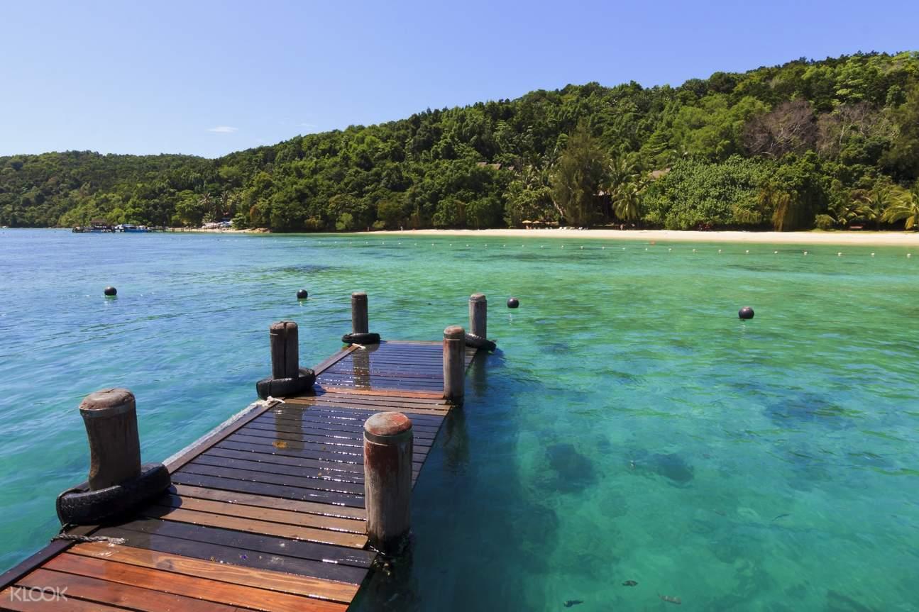 tunku abdul rahman island visit snorkeling experience