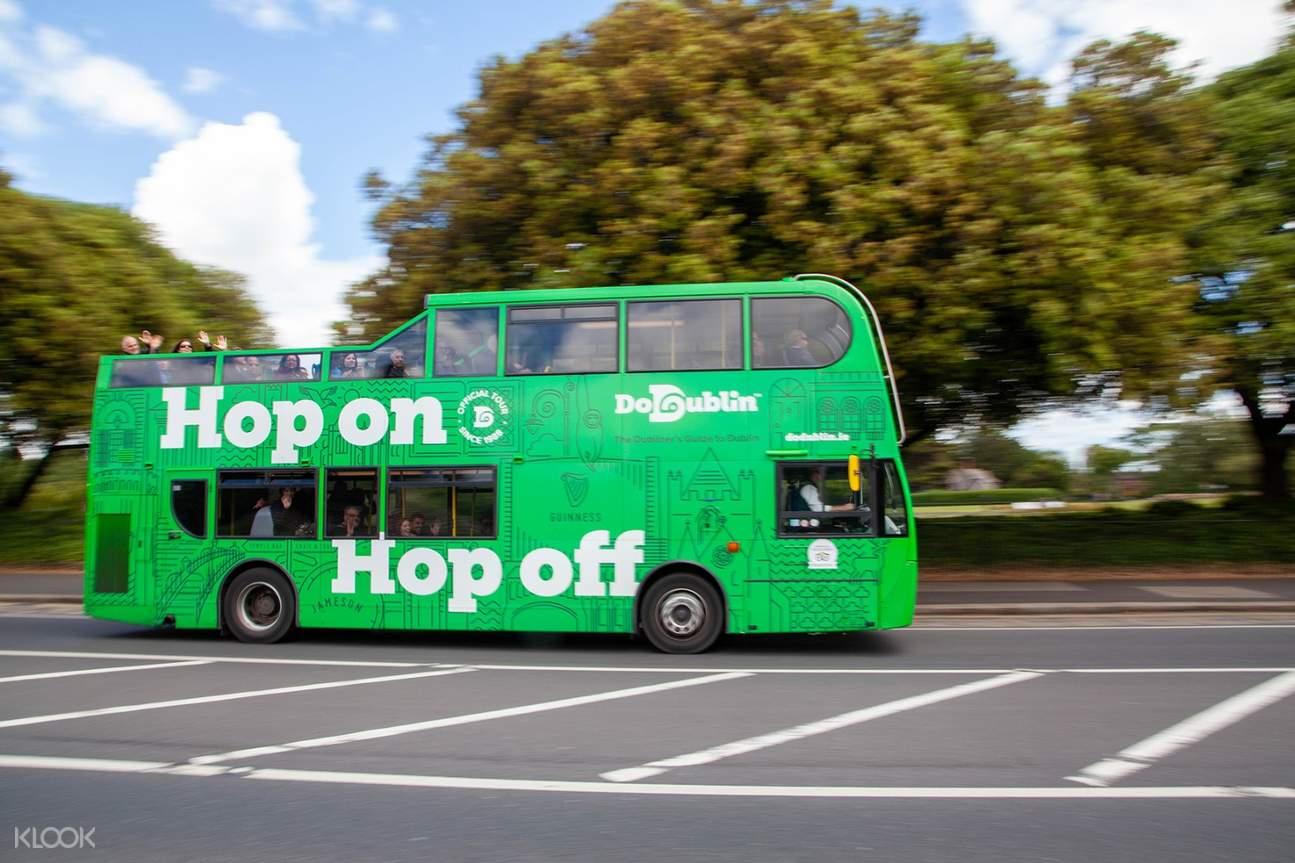 Hop On/Hop Off City Tour bus in Dublin
