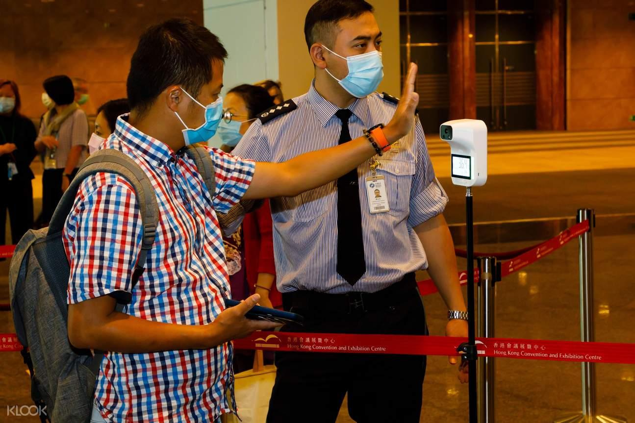 10. 展會一系列防疫措施,令公眾人士安心參觀