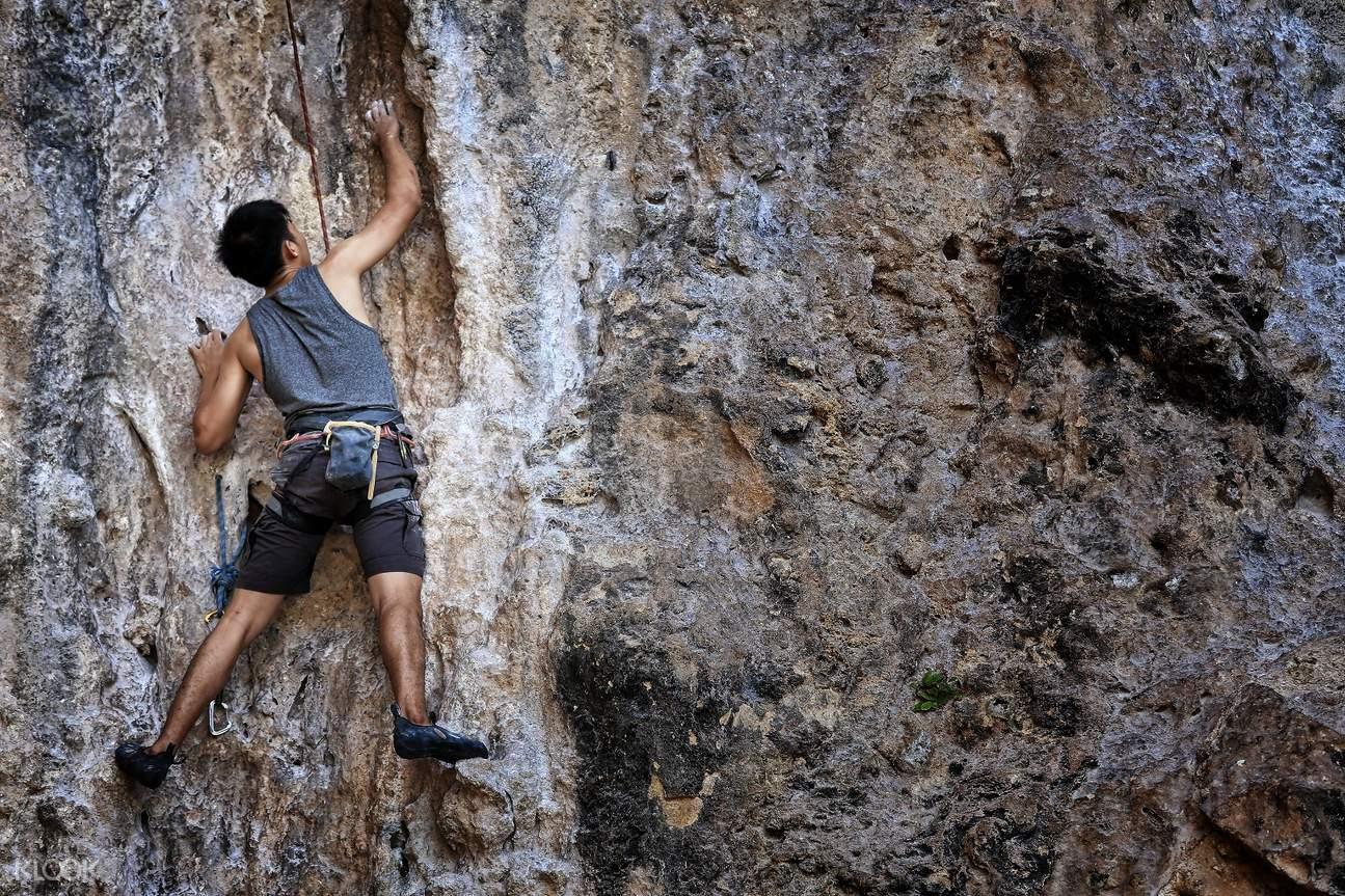 泰國萊莉海灘攀岩體驗(半日/ 一日遊)