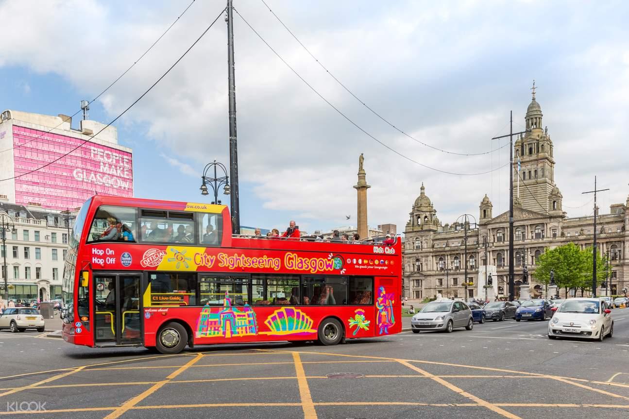 glasgow bus tour